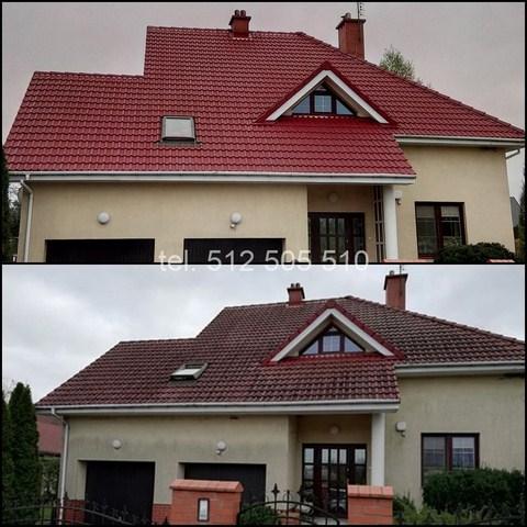 Poznań mycie dachu
