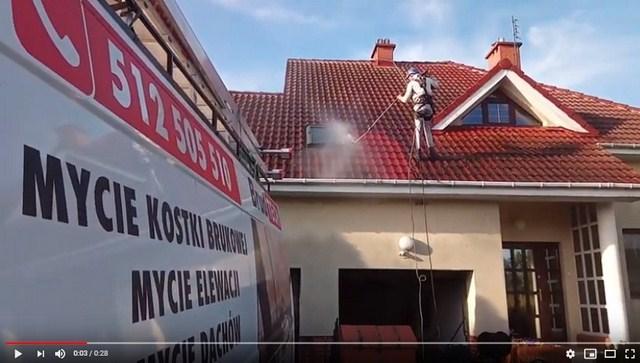 wykonanie czyszczenia dachu w poznaniu